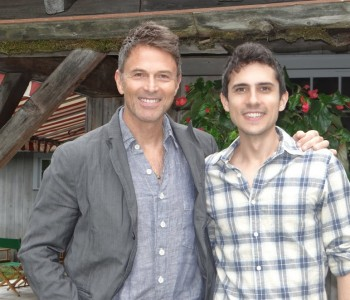 Tim Daly and Charles Socarides